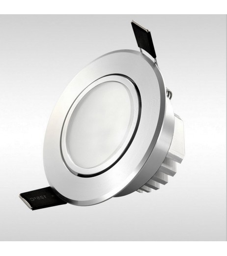 Dimmable Led downlight light frosted mask COB Ceiling Spot Light 3w 5w 7w 12w 85-265V ceiling recessed Lights Indoor Lighting