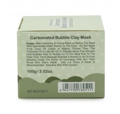 Hot Deep pore Cleansing Clay Mask Carbonated Bubble Anti-Acne Moisturizing Face Mask 100g New