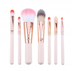 Mini Makeup brush Set Pink Cosmetics Kit de pinceis de maquiagem high-end Make up Tool Hair Foundation Brushes Kit