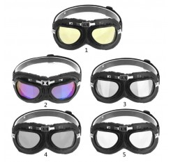 Vintage Anti-fog Dustproof UV Protection Glasses Motocross Bicycle Goggles Windproof Motorcycle Bike Flying Goggle Glasses