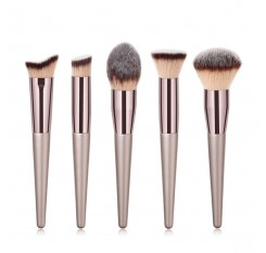 1 PC Powder Brush Large Blush Brush Professional Makeup Brushes Super Soft Synthetic Hair Cosmetic Facial Eyes Tools #273608