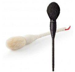 1 Pc Profesional Flat Goat Wool Rattan Makeup Brush Cosmetic Blush Powder Foundation Make Up Beauty Brushes