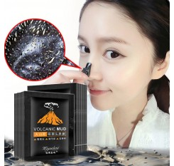 1 Pcs Sell Volcanic Mud Blackhead Remove Facial Masks Deep Cleansing Purifying Peel Off Black Nud Facail Face Masks