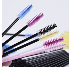10 pcs One-Off Disposable Eyelash Mini Brush Mascara Applicator Wand makeup Brushes Eyes Care Better Styling Tools