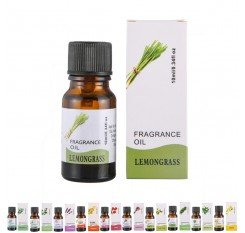 100% Natural Aromatherapy Fragrance Essential Oil  Rosemary Geranium Eucalyptus Ylang Relax Fragrance Oil Diffuser Burner
