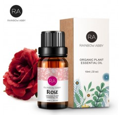 100% Pure 10mlnew rose essential oil Whitening anti-aging wrinkle relax pigmentation remove beriberi rose oil