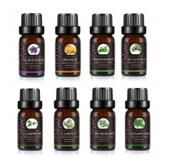 100% Pure Plant 10ml Essential Oils For Aromatic Aromatherapy Diffusers Aroma Oil Sweet Orange Mint Rosemary Massage Oil