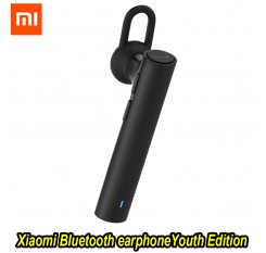 100%Xiaomi Bluetooth Youth Edition earphone Headset Bluetooth 4.1 Xiaomi Mi LYEJ02LM Earphone Build-in Mic Handfree