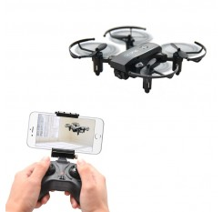 1601 Mini Quadcopter 720P Foldable Drone With Camera HD Real Time Video Headless FPV Quadrocopter WIFI RC Helicopter