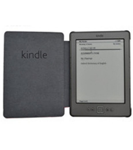 "1PC Leather Cover Case for Amazon Kindle 4/5 E-book Reader 6"" Inch"