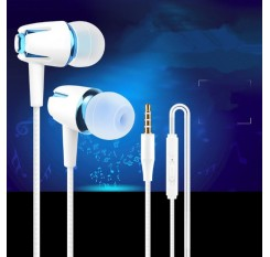 1PC fashion 3.5mm Bluetooth Earphone Wireless Earphone Earbuds Stereo Sound Metal Bass for iPhone Xiaomi Samsung Sport With Mic