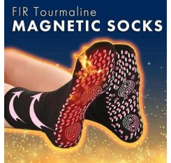 1pair Magnetic therapy socks self-heating socks athlete's foot cracked feet cold anti-freezing warm foot socks