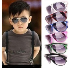 1pc Kids Sunglasses Childrens Sun Glasses Anti-uv Baby Sun-shading Eyeglasses Outdoor Sunglass for cycling