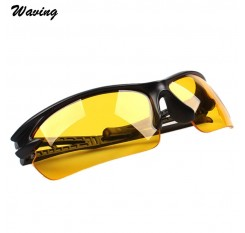 1pc Night-Vision Goggles Sports Cycling Sunglasses Polarized  Shiled Glasses Riding Mirror  outdoor Jan 16