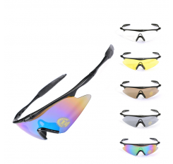 2018 Cycling Eyewear Unisex Outdoor Sunglass UV400 Bike Cycling Glasses Bicycle Sports Sun Glasses Riding Goggles Good Quality