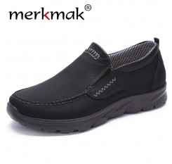 2018 Men New Breathable Mesh Casual Shoes Slip on Male Fashion Footwear Walking Comfortable Loafers Black Blue Shoes for Men