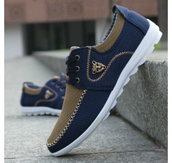 2018 new brand canvas casual men shoes british loafers flats mens masculino comfort driving shoes men's flat shoes size 39-46