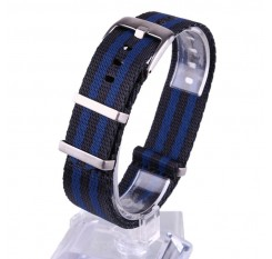 20/22mm Watch Band Strap Nylon Heavy Duty Nylon NATO ZULU Dust-proof Wristband Wristwatch Bands Replacement
