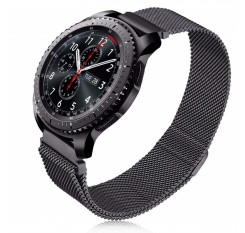 22mm Milanese Loop Strap For Gear S3 Frontier/Classic Watch Band 20mm Stainless Steel Band Mesh Replacement Bracelet for Gear S2