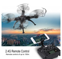 2.4Ghz Wifi Remote Control RC Quadcopter Helicopter Drone Profissional Toy With 2MP Camera HD adjustable angle RC quadrocopter