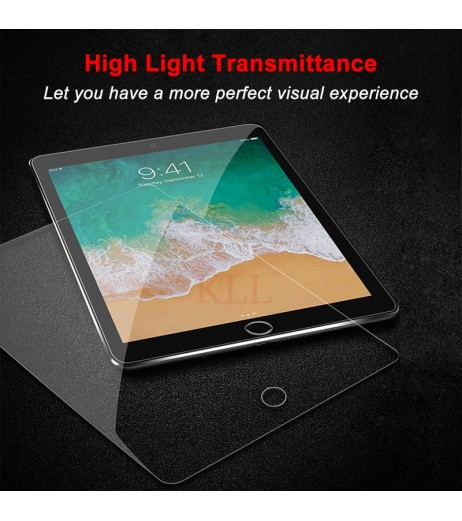 2.5D 9H Tempered Glass for iPad 2 3 4 9H Premium Screen Protector for iPad Mini 1 2 3 4 Air HD Explosion-Proof Protective Glass