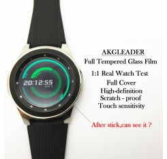 2pcs Glass Film For Galaxy Watch 46mm 42mm Full Tempered Glass Film For Gear S3 22mm Screen Protective nice with your band