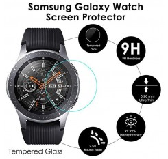 2pcs Tempered Glass for Samsung Galaxy Watch 42mm 46mm Version Screen Protector Cover Protective Film Band + Cleaning Kit