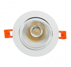 Angle Adjustable 7W/9W/12W/15W/18W LED COB Downlight Dimmable 3000K/6000K Epistar Ceiling Lamp Recessed Spot Light Home Decor