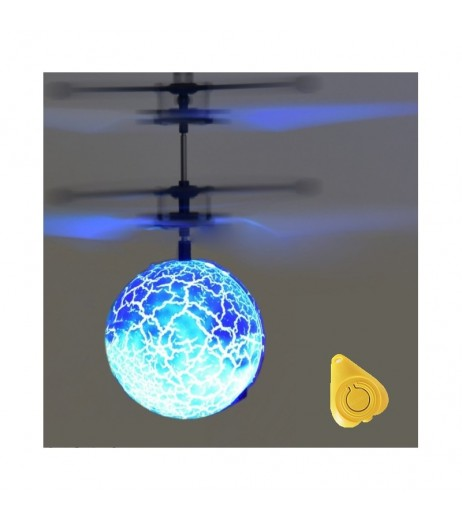 Colorful RC Flying Ball Luminous Kid's Flight Balls Infrared Induction Aircraft Remote Control Toys LED Light Mini Helicopter