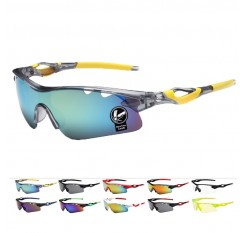 Cycling eyewear  UV400 sunglasses Men Outdoor Sport UV Protection for Mountain road Bike Bicycle Fishing Glasses S083F