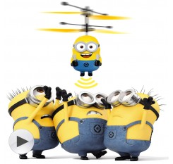 DESPICABLE ME MINION Induction  RC Helicopter Flying UFO Quadcopter Drone Ar.drone Kids Toy VS Fairy Doll x5c Buy 1 get 1 Free