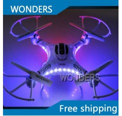 DFD F183 Quadcopter 4CH Drone 6 Axis gyro RC Quadcopter Remote Control Toys With HD Camera SYMA X5C Upgraded Version