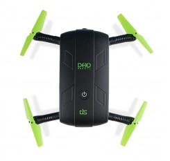 DHD D5 Selfie Drone With Camera Foldable Pocket Rc Drone Phone Control RC Helicopters Fpv Quadcopter Mini Drone