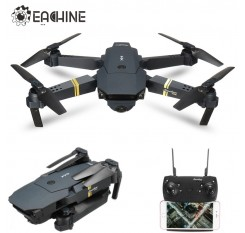 Eachine E58 WIFI FPV With Wide Angle HD Camera High Hold Mode Foldable Arm RC Quadcopter RTF Drone VS VISUO XS809HW JJRC H37