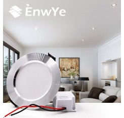EnwYe 4pcs LED Ceiling Lamps  9W 12W 15W led downlight Russian Federation 110V 220V