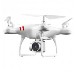 FOR HJMAX RC Quadcopter Kid Toy Training Wi-Fi Supper Endurance Drone Built-in 720P HD Camera FPV RC Drone White black