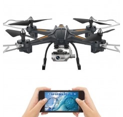 FPV Cam Quadcopter HD 720P/1080P 2/5 Megapixels Wifi Data Transfer Drone Remote Controlled Toys Altitude Hold Helicopter Aircraf