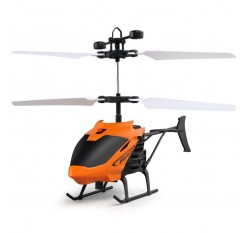 Flying Mini RC Infraed Induction Helicopter Aircraft Flashing Light Toys For Kids