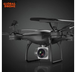 Global Drone Profissional Hover Quadrocopter Gravity Sensor Long Time Fly FPV Real Time Transmission Drones with Camera HD 1080P