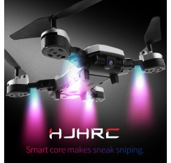 HJ28 Quadcopter With Camera 5.0MP 1080P Wifi FPV Selfie Dron 20min Flying Time RC Helicopter 6-Axis Gyro Drones With Camera HD