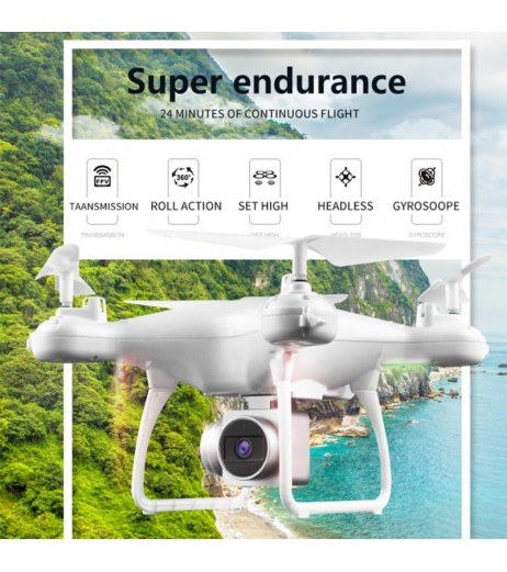 HJMAX RC Quadcopter Training Wi-Fi Supper Endurance Drone HD Camera FPV RC Helicopter