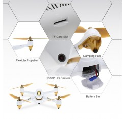 Habson H501S Professional RC Drone HD Aerial Drone GPS Positioning Aerial Photography Fall-Resistant Remote Control Quadcopter