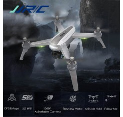In-Stock JJRC JJPRO X5 RC Drone 5G WiFi FPV Professional Dron Brushless GPS 1080P HD Camera Smart Altitude Hold Quadcopter Toy