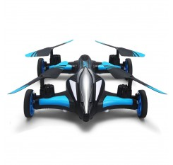 JJRC H23 2.4g 4CH 6-Axis Gyro Air-Ground Car Flying RC Drone RTF Quadcopter With 3D Vibrating Mode One-Button Return Headless