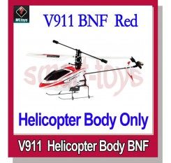 WLtoys V911 2.4GHz 4CH Micro Single-rotor RC Helicopter BNF with Gyro Body Only