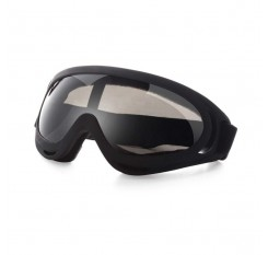 X400 Motorcycle Goggles Windproof Safety Skiing Goggles UV Protection with Adjustable Strap CS Tactical Goggles